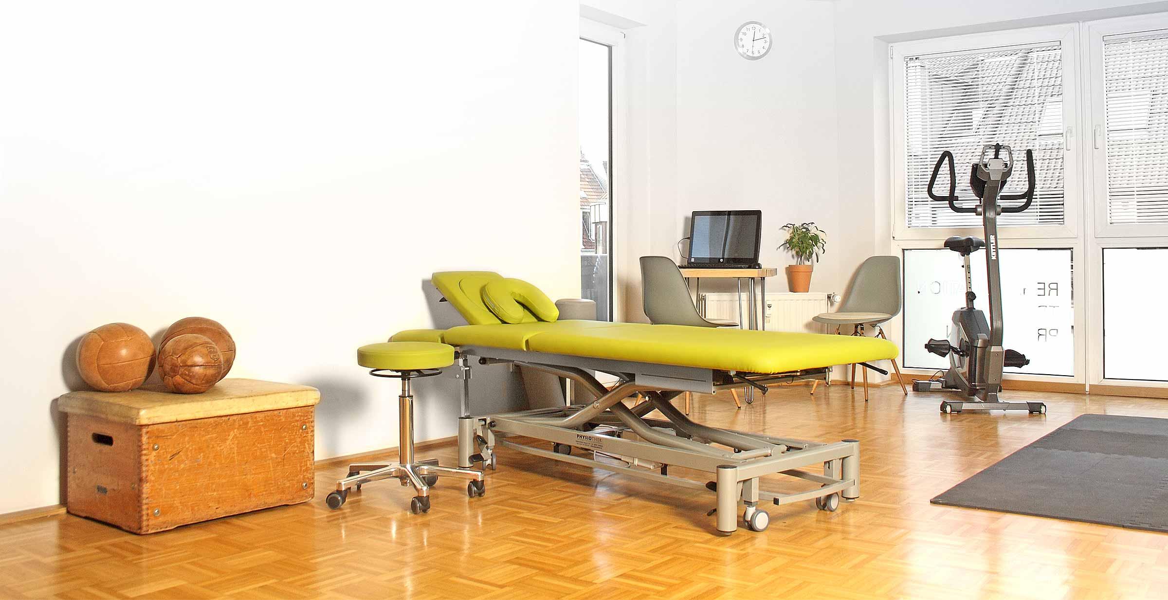 PhysioAktiv Sportphysiotherapie in Köln Behandlungsraum